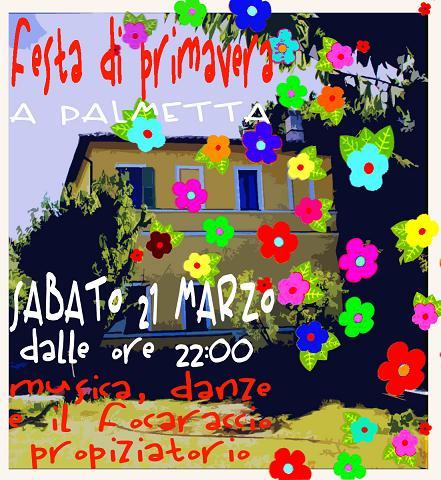 festa di primavera – sabato 21 marzo 09 – ore 22:00
