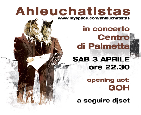 Ahleuchatistas in concerto