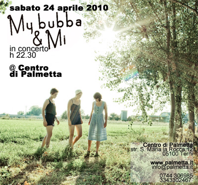 sabato 24 aprile – My bubba and mi