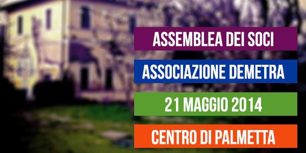 ASSEMBLEA DEI SOCI | 21 Maggio 2014