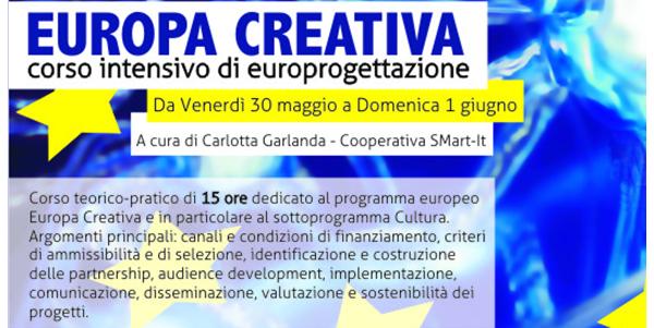 Laboratorio intensivo sull'Europrogettazione  | 30-31Maggio, 1 Giugno 2014