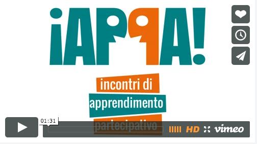 IAPPA! incontri di apprendimento partecipativo – video e infografica